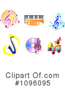 Music Clipart #1096095 by Vector Tradition SM