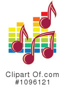 Royalty-Free (RF) music Clipart Illustration #1096121