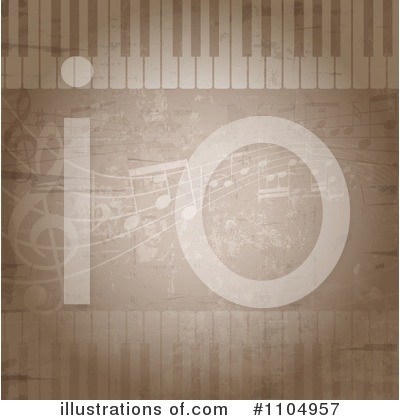 Music Notes Clipart #1104957 by KJ Pargeter