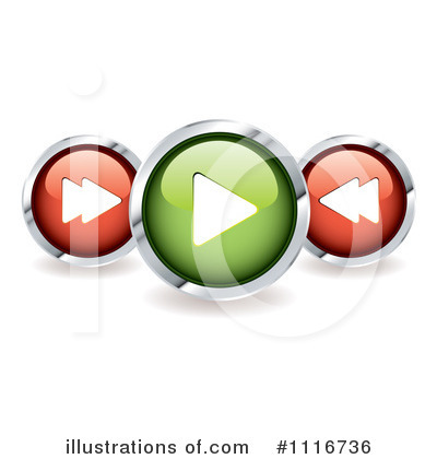 Website Button Clipart #1116736 by michaeltravers
