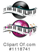 Royalty-Free (RF) Music Clipart Illustration #1118741