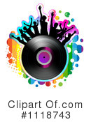 Royalty-Free (RF) Music Clipart Illustration #1118743