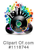 Royalty-Free (RF) Music Clipart Illustration #1118744