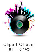 Royalty-Free (RF) Music Clipart Illustration #1118745