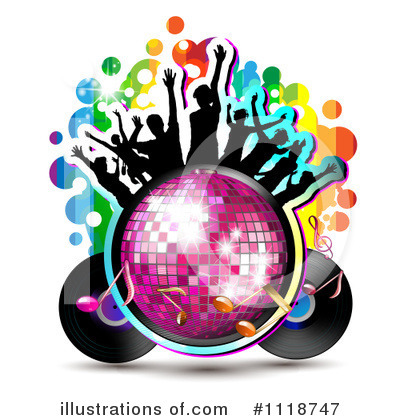 Disco Ball Clipart #1118747 by merlinul