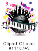 Royalty-Free (RF) Music Clipart Illustration #1118749