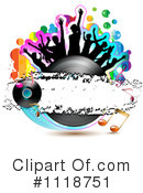 Royalty-Free (RF) Music Clipart Illustration #1118751