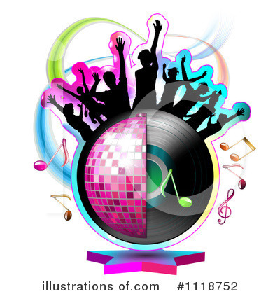 Disco Ball Clipart #1118752 by merlinul
