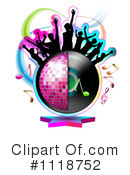 Royalty-Free (RF) Music Clipart Illustration #1118752