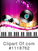 Royalty-Free (RF) Music Clipart Illustration #1118762