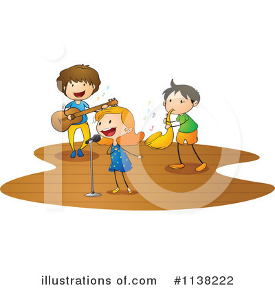 Singing Clipart #1138222 by Graphics RF