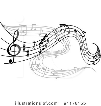 Music Clipart #1178155 by Vector Tradition SM