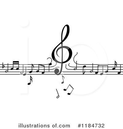 Royalty-Free (RF) Music Clipart Illustration by Vector Tradition SM - Stock Sample #1184732
