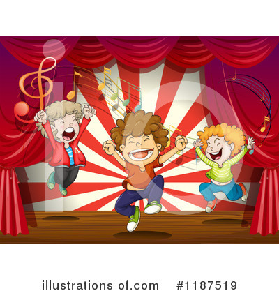 Concert Clipart #1187519 by Graphics RF