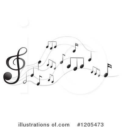 Music Clipart #1205473 by Graphics RF