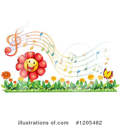 Singing Clipart #1205482 by Graphics RF