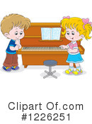 Royalty-Free (RF) Music Clipart Illustration #1226251