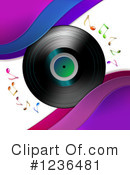Royalty-Free (RF) Music Clipart Illustration #1236481