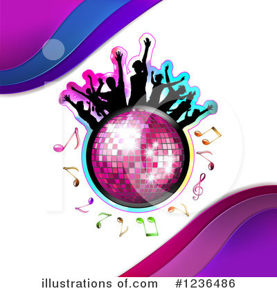 Disco Ball Clipart #1236486 by merlinul