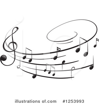 Music Clipart #1253993 by Graphics RF