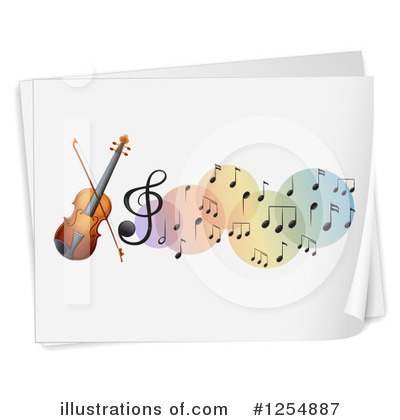 Violin Clipart #1254887 by Graphics RF