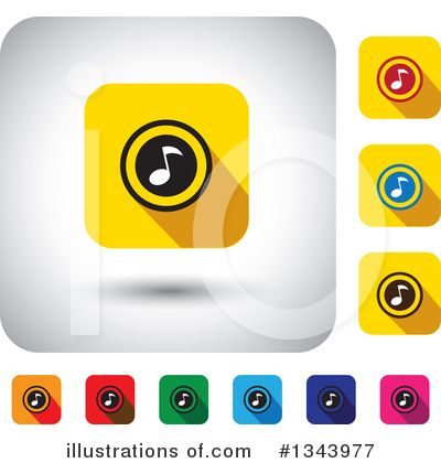 Music Clipart #1343977 by ColorMagic