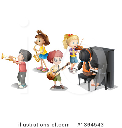 Saxophone Clipart #1364543 by Graphics RF