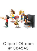 Royalty-Free (RF) Music Clipart Illustration #1364543