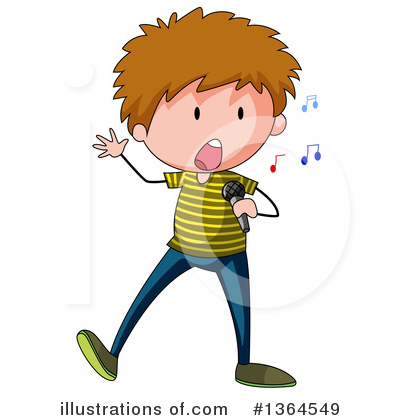 Singing Clipart #1364549 by Graphics RF