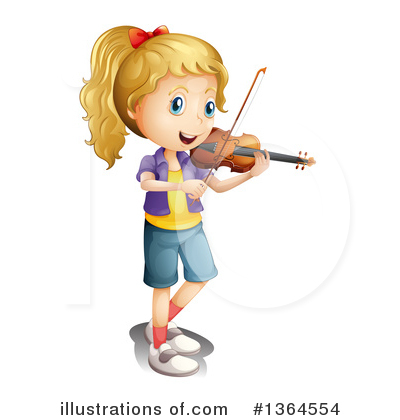 Violin Clipart #1364554 by Graphics RF