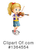 Royalty-Free (RF) Music Clipart Illustration #1364554