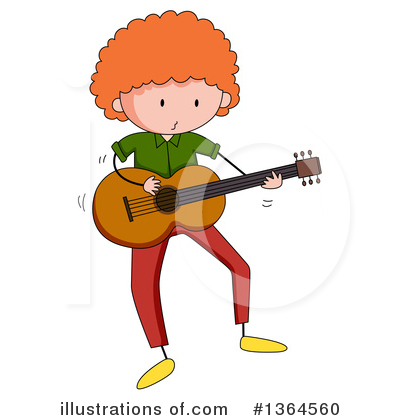 Guitar Clipart #1364560 by Graphics RF