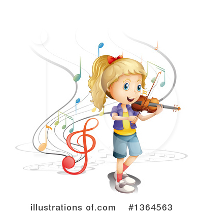 Violin Clipart #1364563 by Graphics RF