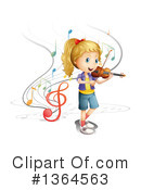 Royalty-Free (RF) Music Clipart Illustration #1364563