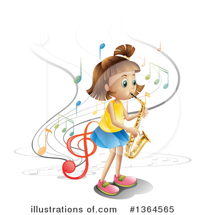 Saxophone Clipart #1364565 by Graphics RF