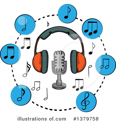 Music Clipart #1379758 by Vector Tradition SM