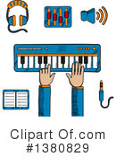 Music Clipart #1380829 by Vector Tradition SM
