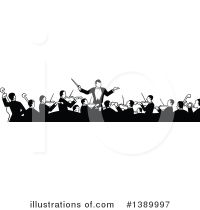 Music Band Clipart #1389997 by Prawny Vintage
