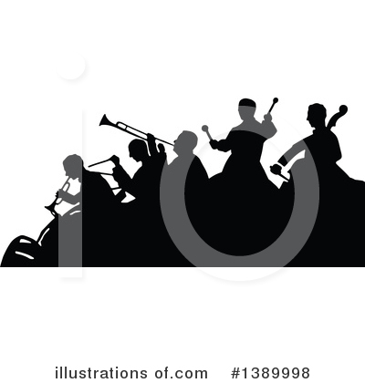 Music Band Clipart #1389998 by Prawny Vintage