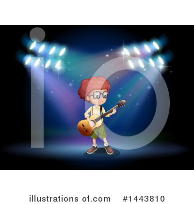 Guitar Clipart #1443810 by Graphics RF