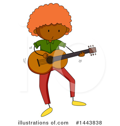 Guitar Clipart #1443838 by Graphics RF