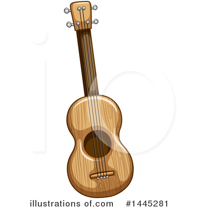 Guitar Clipart #1445281 by Graphics RF