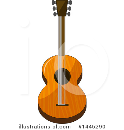 Guitar Clipart #1445290 by Graphics RF