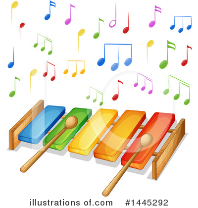Xylophone Clipart #1445292 by Graphics RF