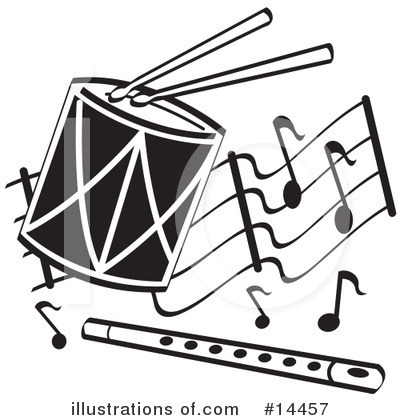 Drummer Clipart #14457 by Andy Nortnik