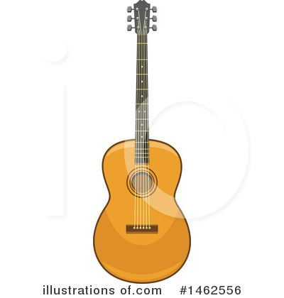 Guitar Clipart #1462556 by Vector Tradition SM