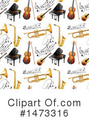 Royalty-Free (RF) Music Clipart Illustration #1473316