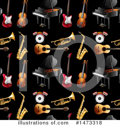 Royalty-Free (RF) Music Clipart Illustration by Graphics RF - Stock Sample #1473318