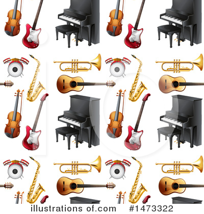Royalty-Free (RF) Music Clipart Illustration by Graphics RF - Stock Sample #1473322