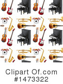 Royalty-Free (RF) Music Clipart Illustration #1473322